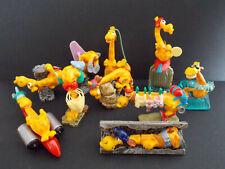 Lot série complète Kinder 10 Super Girafes France 2000 + 1 BPZ