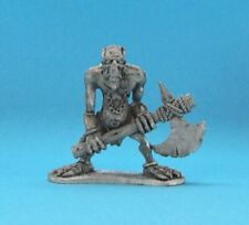 RAL PARTHA Fantasy TROLL WITH AXE Any RPG D&D Pathfinder 3605 Miniature