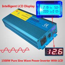 1500W Peak 3000W Pure Sine Wave power inverter DC 12V TO AC 220V - 240V