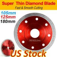US Porcelain Tile Turbo Ultra-thin Diamond Dry Cutting Disc Wheel Angle Grinder