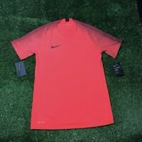 NIKE VAPORKNIT STRIKE SS TOP SIZE (RED/BLACK)(892887-653) Medium