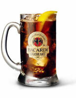 Personalised 10oz Bacardi Oakheart Tankard Spiced Rum Glass Engraved Gift