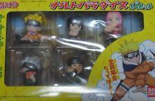 NARUTO Paradise 5 Characters Mini Figure Set