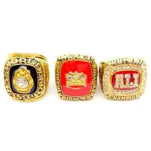 3PC 1964 2016 muhammad ali heavy weight boxing world series Championship rings