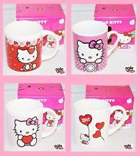 Hello Kitty Tassen Becher im Geschenkkarton Motiv Herz o. Ballon o.Erdbeer