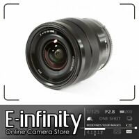 NEW Sony E 10-18mm F4 OSS E-mount Lens SEL1018