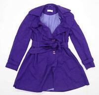 Jo Ellis Womens Size 14 Cotton Purple Coat