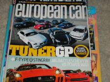 EUROPEAN CAR   feb. 2014   LAMBORGHINI AVENTADOR ,  V8 power war  ,   B8