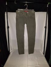 Unionbay Womens Green Jeans with Pattern Size 0 Inseam 28