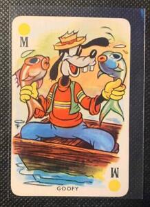 RARE Disney 1939 Pepys  Mickey's Fun Fair Cards   GOOFY  Excellent Condition!