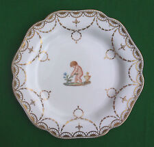 """8.5"""" WEDGWOOD CABINET PLATE - J. THORLEY - MARSHALL FIELD & CO. CHICAGO."""