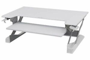 Ergotron (33-406-062) WorkFit-TL Desktop Sit-Stand Workstation Desk Converter