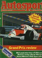 Autosport DEC 20th 1984 * Porsche 956 & Sunoco 917-30 *