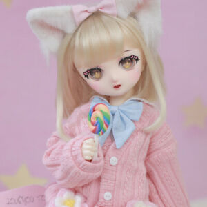 New clothes Hair shoes For 1/4 BJD Doll Naiko