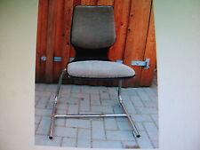 5 Stühle orig Flötotto Stapelstuhl bauhaus 70er