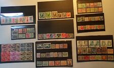 50 Stock Cards with World Stamps