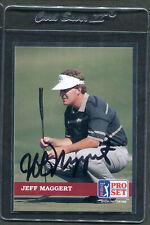 1992 Pro Set Golf Jeff Maggert #35 Signed Autograph Auto