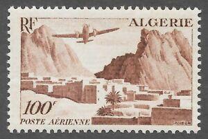 Algeria (1949) - Scott # C9,   MNH