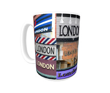 LONDON Coffee Mug / Cup featuring the name in actual sign photos
