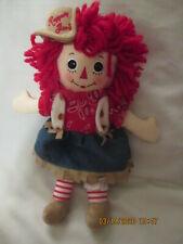 Raggedy Ann Doll Aurora Cowgirl  12 inch 2013