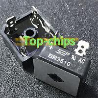 5 PCS BR3510 DIP-4 BR 3510 SINGLE-PHASE SILICON BRIDGE RECTIFIER