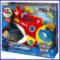 NEW Paw Patrol Sub Patroller with Ryder Figure & Lights And Sounds