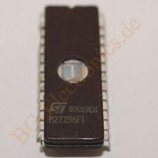 1 x M27256FI EPROM, 256Kbit Density, Parallel, UV Reprogramab STM DIP-28 1pcs
