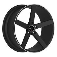 "20"" Giovanna Wheels Mecca RL Stagger Black Rims Tires Fits G35 Maxima 350Z  CV3"