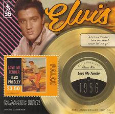 Palau 2012 MNH Elvis Presley Classic Hits 35th Anniv Love Me Tender 1956 1v S/S
