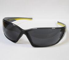 Xcel Gafas De Seguridad Negro Lente Especificaciones Ahumado protección de los ojos gafas lentes