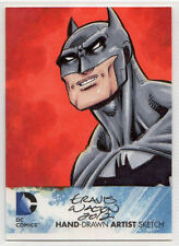 DC Comics New 52 Hand Drawn Artist Sketch Batman by Travis Walton 1/1