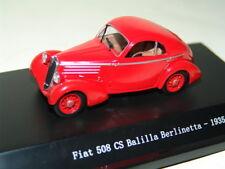 FIAT 508 CS BALILLA BERLINETTA 1935 ROSSO 1:43 STARLINE