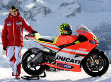 Valentino Rossi Ducati MotoGP New Bike 10x8 Photo