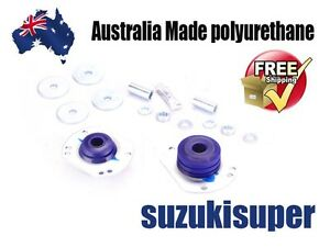 2 Adjustable Castor Bush Kit Holden Monaro Statesman Calais Ute 1 Tonner Crewman