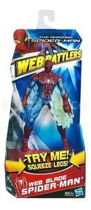 "THE AMAZING SPIDER-MAN WEB BATTLERS SPINNING BLADE 6"" FIGURE BRAND NEW"