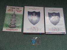 LN DVD + BADGE West Ham United ACADEMY MEMBERSHIP 2013 14 1964 FA CUP FINAL 50th