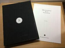 Book Libro QUINTAESENCIA DE LA EXCELENCIA - The Rutherford's Choice - Español