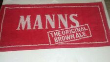 Vintage Manns The Original Brown Ale Bar Towel