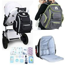Hanging Baby Diaper Nappy Bag Mummy Backpack Rucksack Stroller Storage � *
