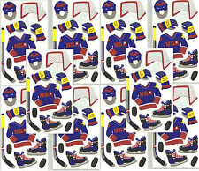 Frances Meyer HOCKEY Scrapbook Stickers SPORTS 10 sheets Stick Puck GOAL!