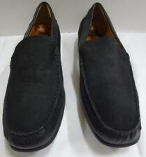 MEPHISTO mens black nubuck & leather cool air loafers shoes 13