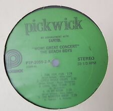 The Beach Boys - Wow! Great Concert + Good Vibrations - 2 x LPs no covers