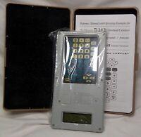 Calculator Keeper & New TI-34 ll Educator Overhead Scientific Calculator  Manual