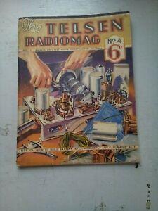 THE TELSEN RADIOMAG  NO 4   1933