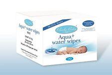 Aqua + Water Wipes (24 packs of 20 wipes) Sensitive skin, 99.25% water