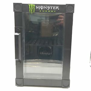 Monster Energy Drink Mini Refrigerator 12V Collectible - For Parts Display or...