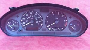 Speedometer Cluster Coupe MPH US Market Fits 96-99 BMW 318i 968