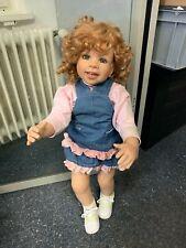 Monika Levenig Künstlerpuppe Vinyl Puppe 80 cm. Top Zustand