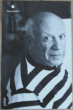 Original Pablo Picasso Think Different Apple Educational Series Poster AWESOME!