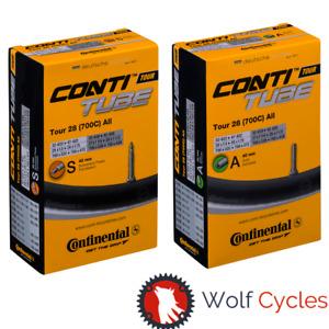 1-4 x Continental Tour 28 700 x 32-47c Bike Inner Tubes Presta/Schrader Valve